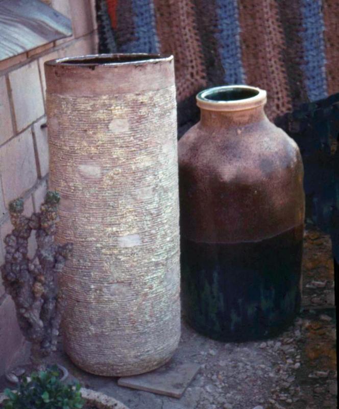 Две напольные вазы / Divas grīdas vāzes