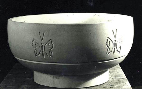 1970, 1977. Цветочница Бабочки / Puķupods. Taureņi