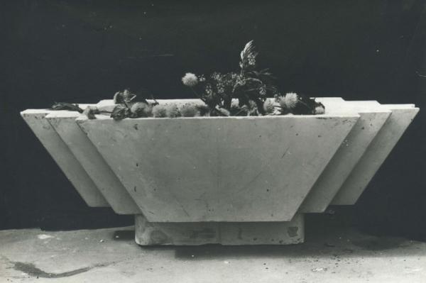 1982. Цветочница с выступами / Puķupods ar izciļņiem