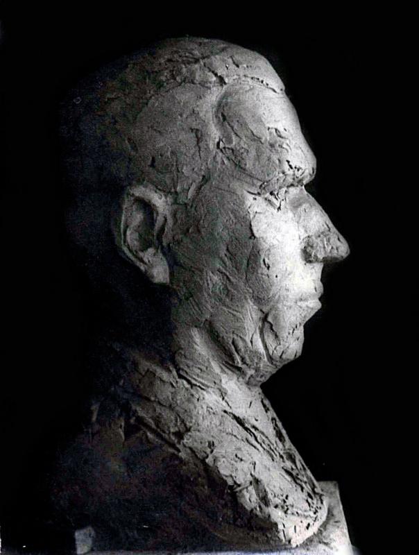 1976. Мужской портрет / Vīrieša portrets