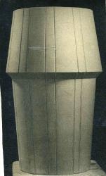 Урна процарапанная доверху / Atkritumu tvertne ar rievām