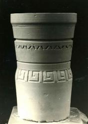 Урна с орнаментом / Atkritumu tvertne ar ornamentu