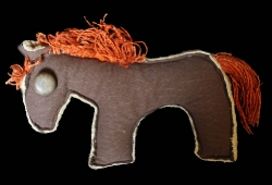 Шитый конь / Izšūts zirgs